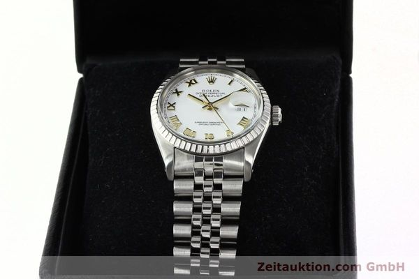 Used luxury watch Rolex Datejust steel automatic Kal. 3035 Ref. 16030  | 141976 07