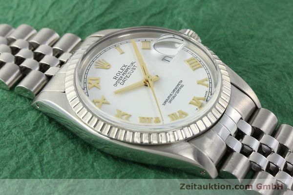 Used luxury watch Rolex Datejust steel automatic Kal. 3035 Ref. 16030  | 141976 14