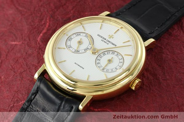 Used luxury watch Vacheron & Constantin * 18 ct gold automatic Kal. 1126 Ref. 46008  | 141977 01