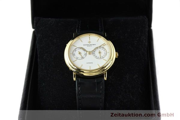 Used luxury watch Vacheron & Constantin * 18 ct gold automatic Kal. 1126 Ref. 46008  | 141977 07