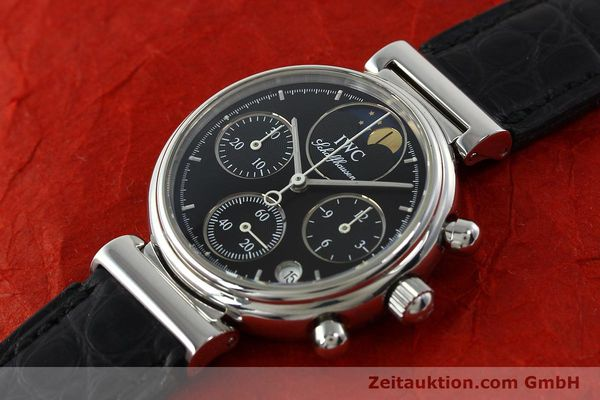 Used luxury watch IWC Da Vinci chronograph steel quartz Kal. 630/1 Ref. 3736  | 141978 01