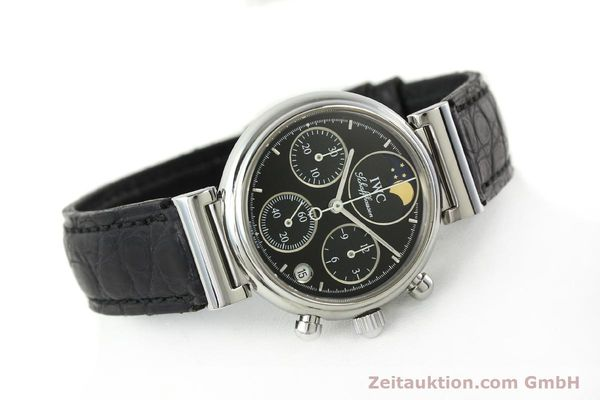Used luxury watch IWC Da Vinci chronograph steel quartz Kal. 630/1 Ref. 3736  | 141978 03