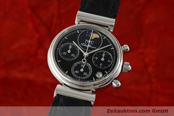 Used luxury watch IWC Da Vinci chronograph steel quartz Kal. 630/1 Ref. 3736  | 141978 04