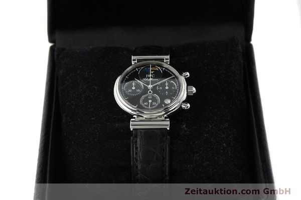 Used luxury watch IWC Da Vinci chronograph steel quartz Kal. 630/1 Ref. 3736  | 141978 07