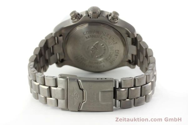 Used luxury watch Breitling Avenger chronograph titanium automatic Kal. B13 ETA 7750 Ref. E13360  | 141982 11