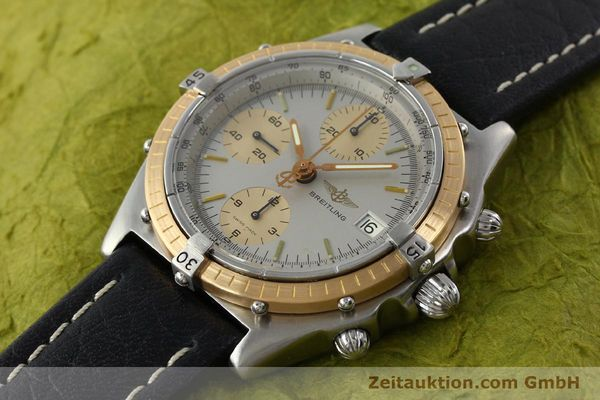 Used luxury watch Breitling Chronomat chronograph steel / gold automatic Kal. VAL 7750 Ref. 81.950  | 141983 01