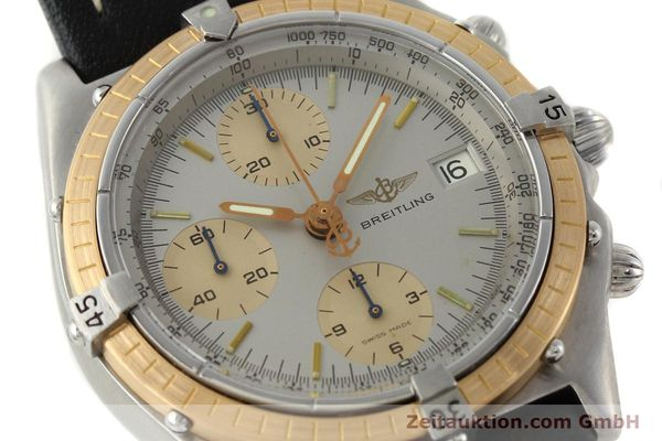 Used luxury watch Breitling Chronomat chronograph steel / gold automatic Kal. VAL 7750 Ref. 81.950  | 141983 02