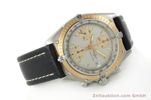 Used luxury watch Breitling Chronomat chronograph steel / gold automatic Kal. VAL 7750 Ref. 81.950  | 141983 03