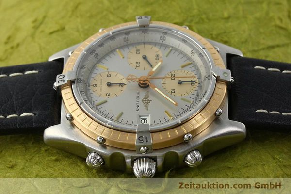 Used luxury watch Breitling Chronomat chronograph steel / gold automatic Kal. VAL 7750 Ref. 81.950  | 141983 05