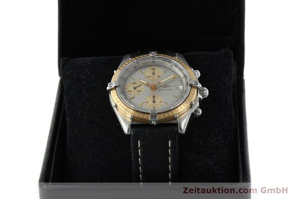 Used luxury watch Breitling Chronomat chronograph steel / gold automatic Kal. VAL 7750 Ref. 81.950  | 141983 07