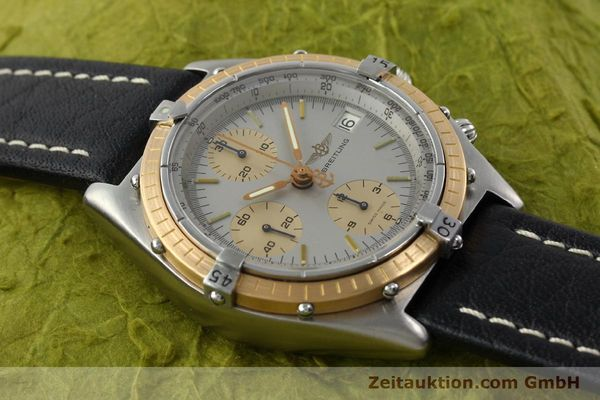 Used luxury watch Breitling Chronomat chronograph steel / gold automatic Kal. VAL 7750 Ref. 81.950  | 141983 13
