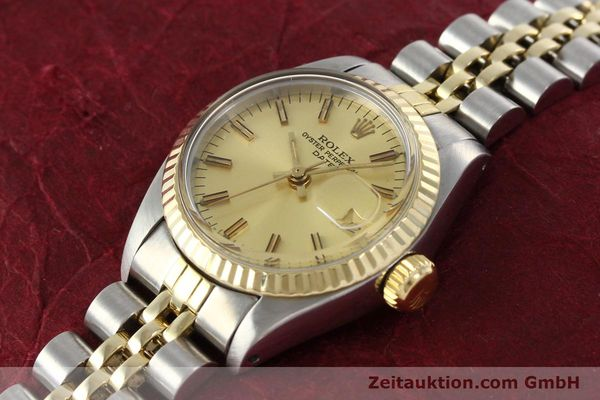 Used luxury watch Rolex Lady Date steel / gold automatic Kal. 2030 Ref. 6917  | 141986 01