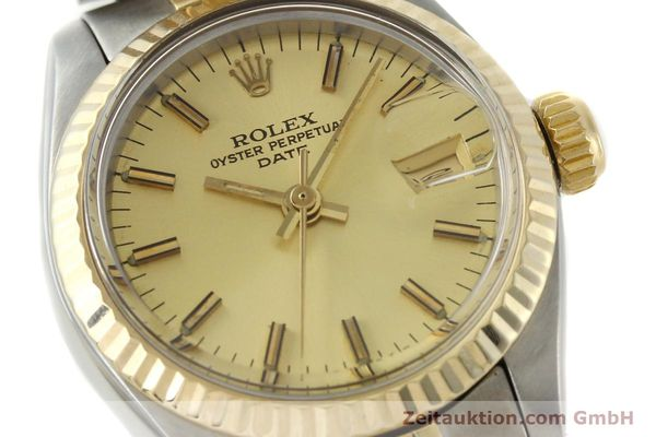 Used luxury watch Rolex Lady Date steel / gold automatic Kal. 2030 Ref. 6917  | 141986 02