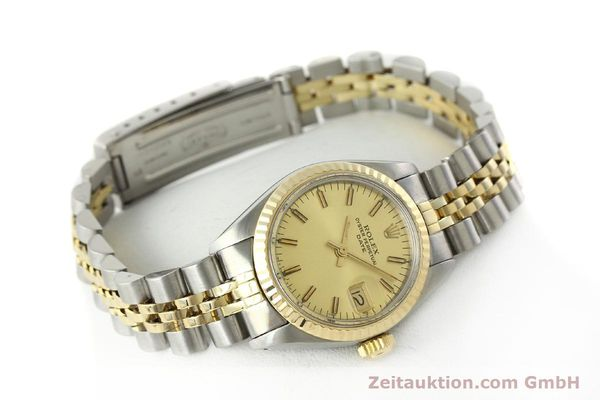 Used luxury watch Rolex Lady Date steel / gold automatic Kal. 2030 Ref. 6917  | 141986 03