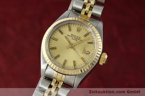 Used luxury watch Rolex Lady Date steel / gold automatic Kal. 2030 Ref. 6917  | 141986 04