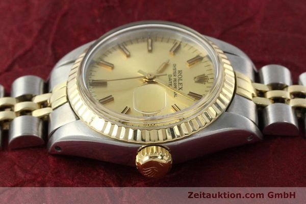 Used luxury watch Rolex Lady Date steel / gold automatic Kal. 2030 Ref. 6917  | 141986 05