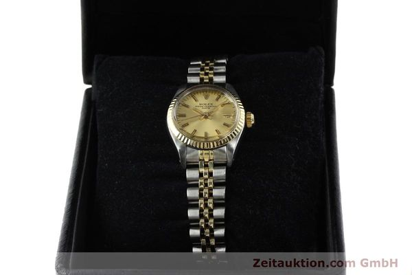 Used luxury watch Rolex Lady Date steel / gold automatic Kal. 2030 Ref. 6917  | 141986 07