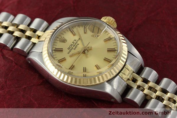 Used luxury watch Rolex Lady Date steel / gold automatic Kal. 2030 Ref. 6917  | 141986 14