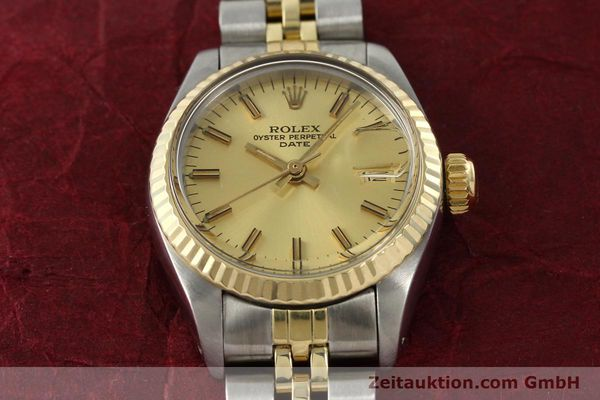 Used luxury watch Rolex Lady Date steel / gold automatic Kal. 2030 Ref. 6917  | 141986 15