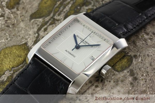 Used luxury watch Baume & Mercier Hampton steel automatic Kal. BM 11824 ETA 2824-2 Ref. 65597  | 141988 01