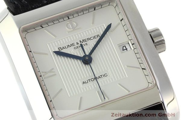 Used luxury watch Baume & Mercier Hampton steel automatic Kal. BM 11824 ETA 2824-2 Ref. 65597  | 141988 02