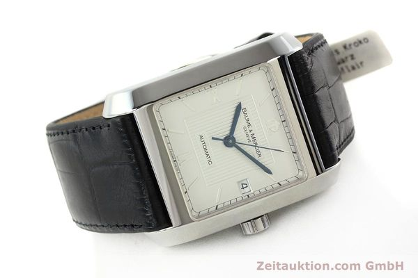 Used luxury watch Baume & Mercier Hampton steel automatic Kal. BM 11824 ETA 2824-2 Ref. 65597  | 141988 03