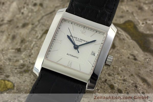 Used luxury watch Baume & Mercier Hampton steel automatic Kal. BM 11824 ETA 2824-2 Ref. 65597  | 141988 04