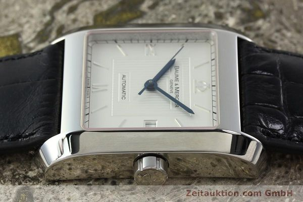 Used luxury watch Baume & Mercier Hampton steel automatic Kal. BM 11824 ETA 2824-2 Ref. 65597  | 141988 05
