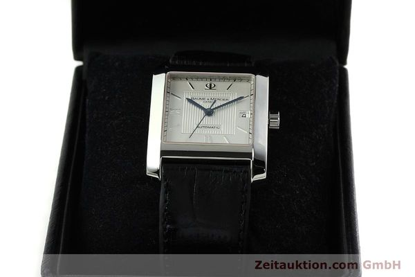 Used luxury watch Baume & Mercier Hampton steel automatic Kal. BM 11824 ETA 2824-2 Ref. 65597  | 141988 07