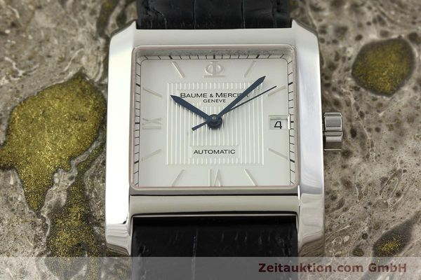 Used luxury watch Baume & Mercier Hampton steel automatic Kal. BM 11824 ETA 2824-2 Ref. 65597  | 141988 15