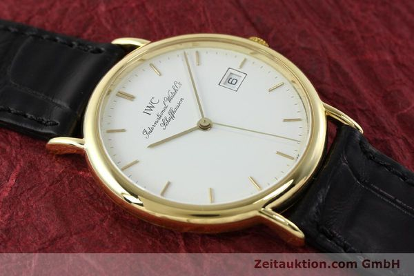 Used luxury watch IWC Portofino 18 ct gold quartz Kal. 2210 ETA 255411 Ref. 3331  | 141989 13