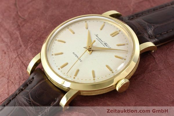 Used luxury watch IWC * 18 ct gold automatic Kal. C.852  | 141990 01