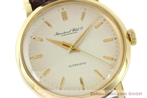 Used luxury watch IWC * 18 ct gold automatic Kal. C.852  | 141990 02