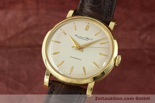 Used luxury watch IWC * 18 ct gold automatic Kal. C.852  | 141990 04