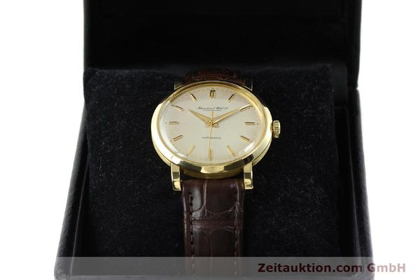 Used luxury watch IWC * 18 ct gold automatic Kal. C.852  | 141990 07