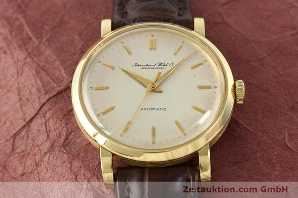 Used luxury watch IWC * 18 ct gold automatic Kal. C.852  | 141990 15