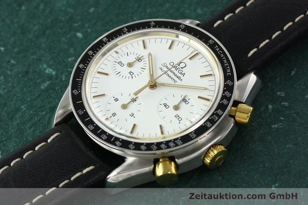 Used luxury watch Omega Speedmaster chronograph steel automatic Kal. 1140 ETA 2890-2  | 141991 01