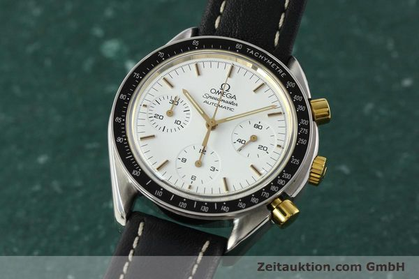 Used luxury watch Omega Speedmaster chronograph steel automatic Kal. 1140 ETA 2890-2  | 141991 04