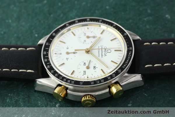 Used luxury watch Omega Speedmaster chronograph steel automatic Kal. 1140 ETA 2890-2  | 141991 05