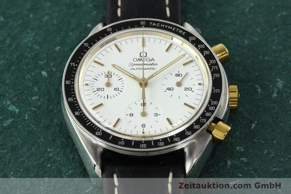 Used luxury watch Omega Speedmaster chronograph steel automatic Kal. 1140 ETA 2890-2  | 141991 14