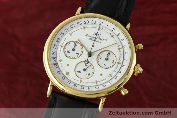 montre de luxe d occasion IWC * or 18 ct quartz Kal. 630 Ref. 3731  | 141992 04