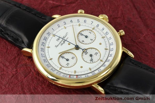 Used luxury watch IWC * 18 ct gold quartz Kal. 630 Ref. 3731  | 141992 12