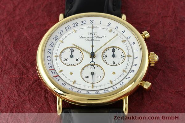 Used luxury watch IWC * 18 ct gold quartz Kal. 630 Ref. 3731  | 141992 13