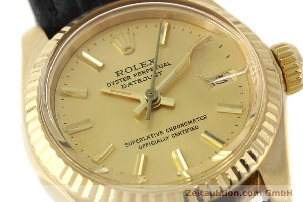 montre de luxe d occasion Rolex Lady Datejust or 18 ct automatique Kal. 2030 Ref. 6917  | 141993 02