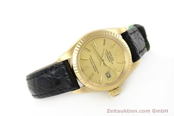 montre de luxe d occasion Rolex Lady Datejust or 18 ct automatique Kal. 2030 Ref. 6917  | 141993 03