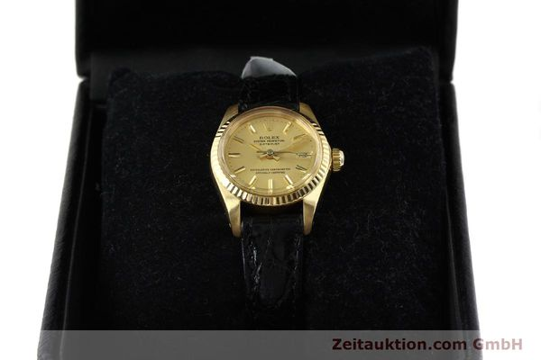 montre de luxe d occasion Rolex Lady Datejust or 18 ct automatique Kal. 2030 Ref. 6917  | 141993 07