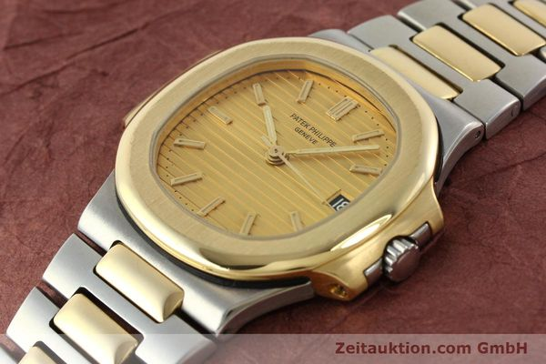 Used luxury watch Patek Philippe Nautilus steel / gold automatic Kal. 335 SC Ref. 3800/1  | 141995 01