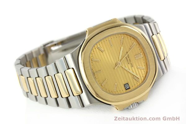 Used luxury watch Patek Philippe Nautilus steel / gold automatic Kal. 335 SC Ref. 3800/1  | 141995 03