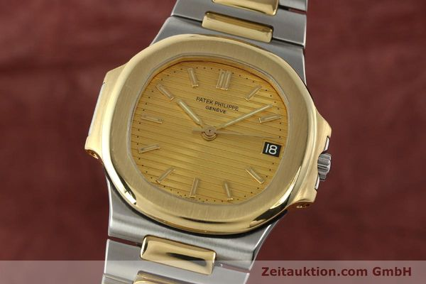 Used luxury watch Patek Philippe Nautilus steel / gold automatic Kal. 335 SC Ref. 3800/1  | 141995 04