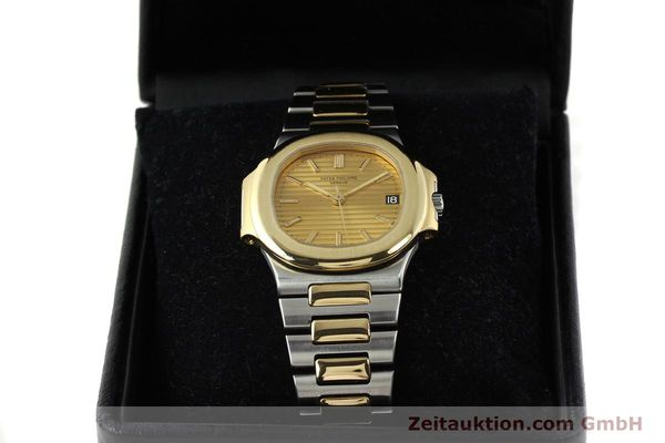 Used luxury watch Patek Philippe Nautilus steel / gold automatic Kal. 335 SC Ref. 3800/1  | 141995 07